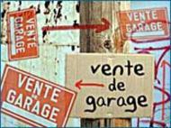Vente de garage